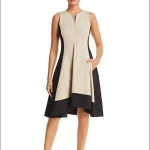 New 🌸DONNA KARAN NEW YORK Colorblock Shift Dress